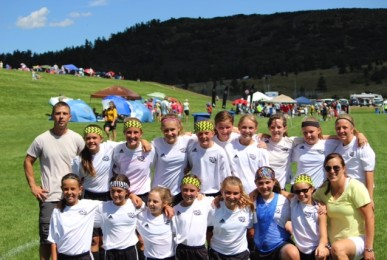 Girls U12 Blitz at Pride of the Rockies Tournament - Air Force Academy - August 2014