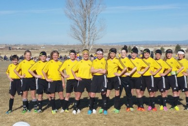 U12 Girls at 2015 Pueblo Sunbelt Tournament
